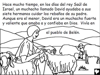 Colorear la biblia para niños gratis