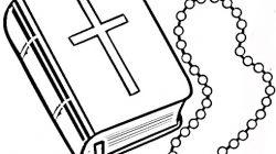 Colorear la Biblia para niños.