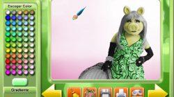 Juegos de colorear a los Muppets.