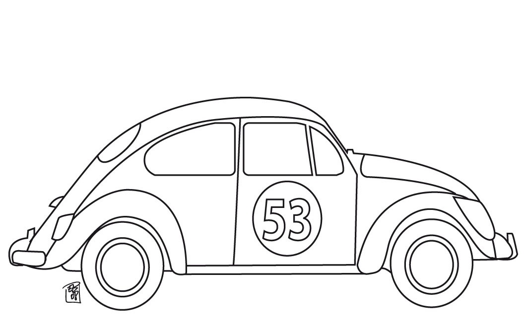 Autos para colorear