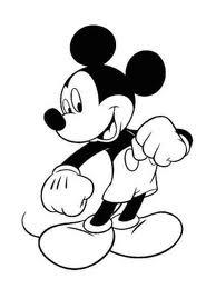 colorear a mickey mouse