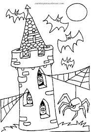 colorear dibujos de halloween