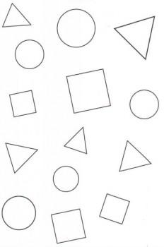 colorear figuras geométricas