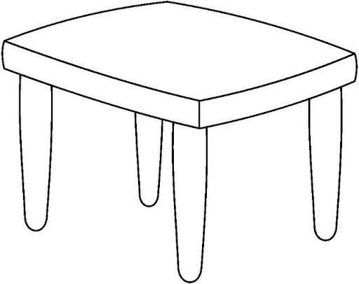 Imagenes de mesa para dibujar imagui for Silla para dibujar