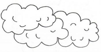 colorear nube
