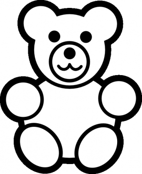 colorear oso