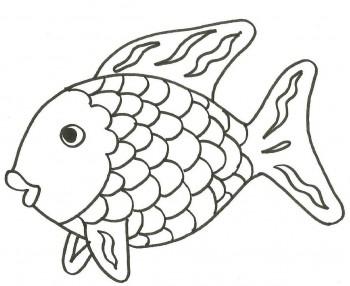 colorear pez