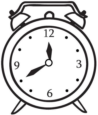 Reloj para colorear - Dibujos de relojes para imprimir ...