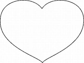 corazon para colorear