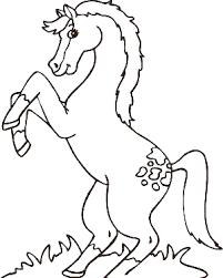 dibujo de caballo para colorear