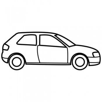 dibujo de carro para colorear
