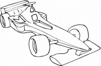 dibujo de carros para colorear