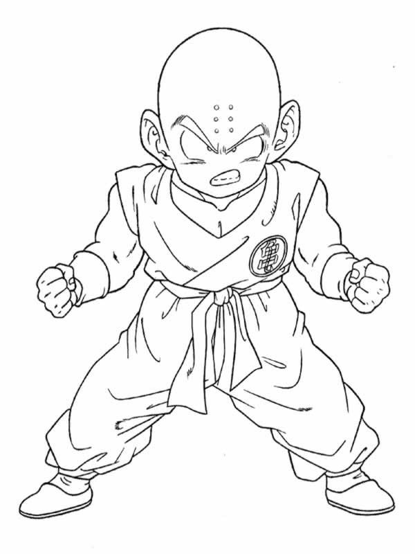 Dragon Ball Z para colorear