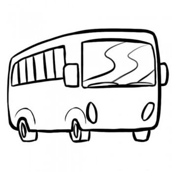 dibujo de medio de transporte para colorear