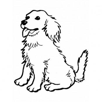 dibujos de perro para colorear