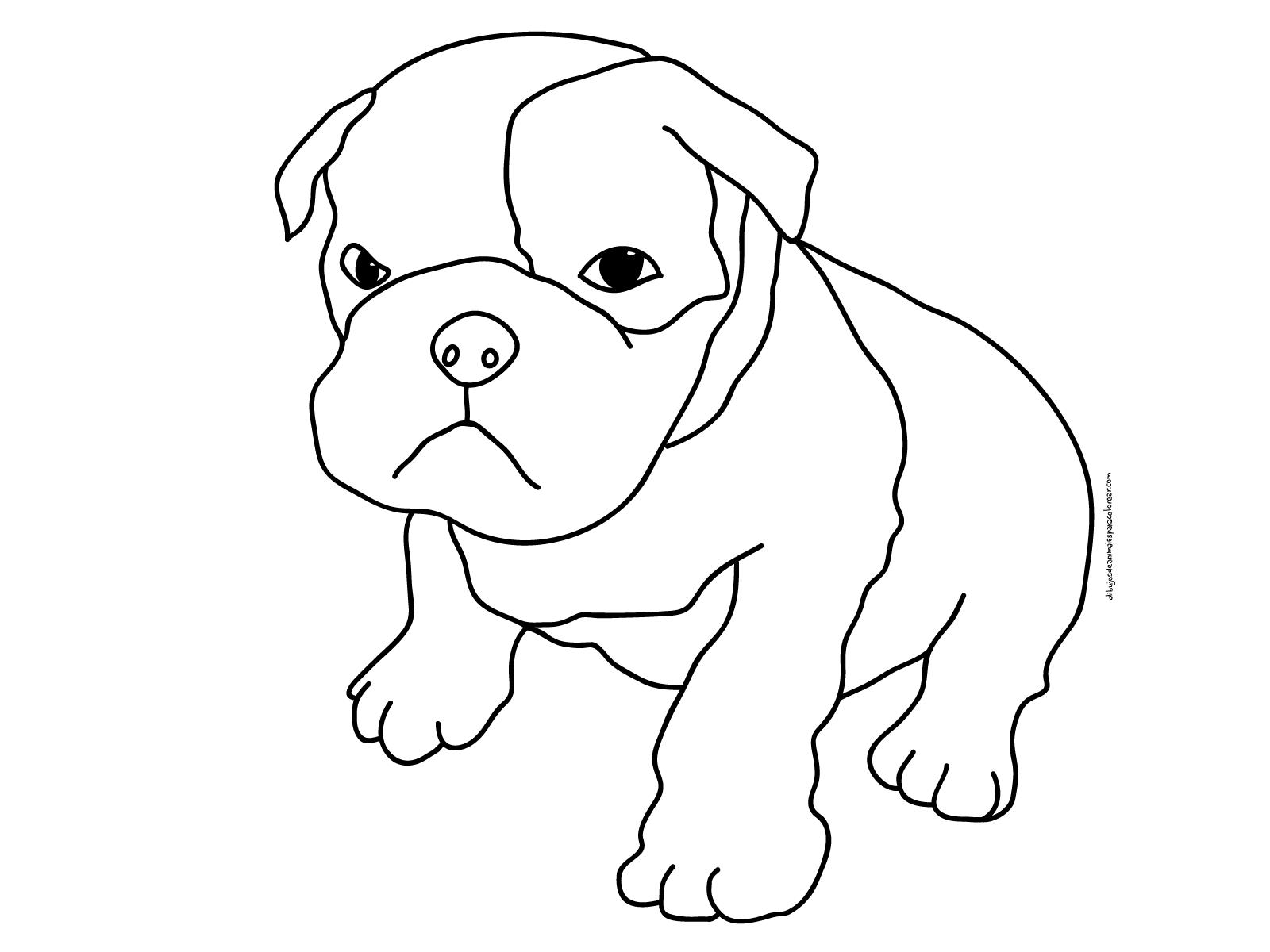 Dibujos De Perros. Latest Dibujo De Un Perro De Perfil. Cheap ...