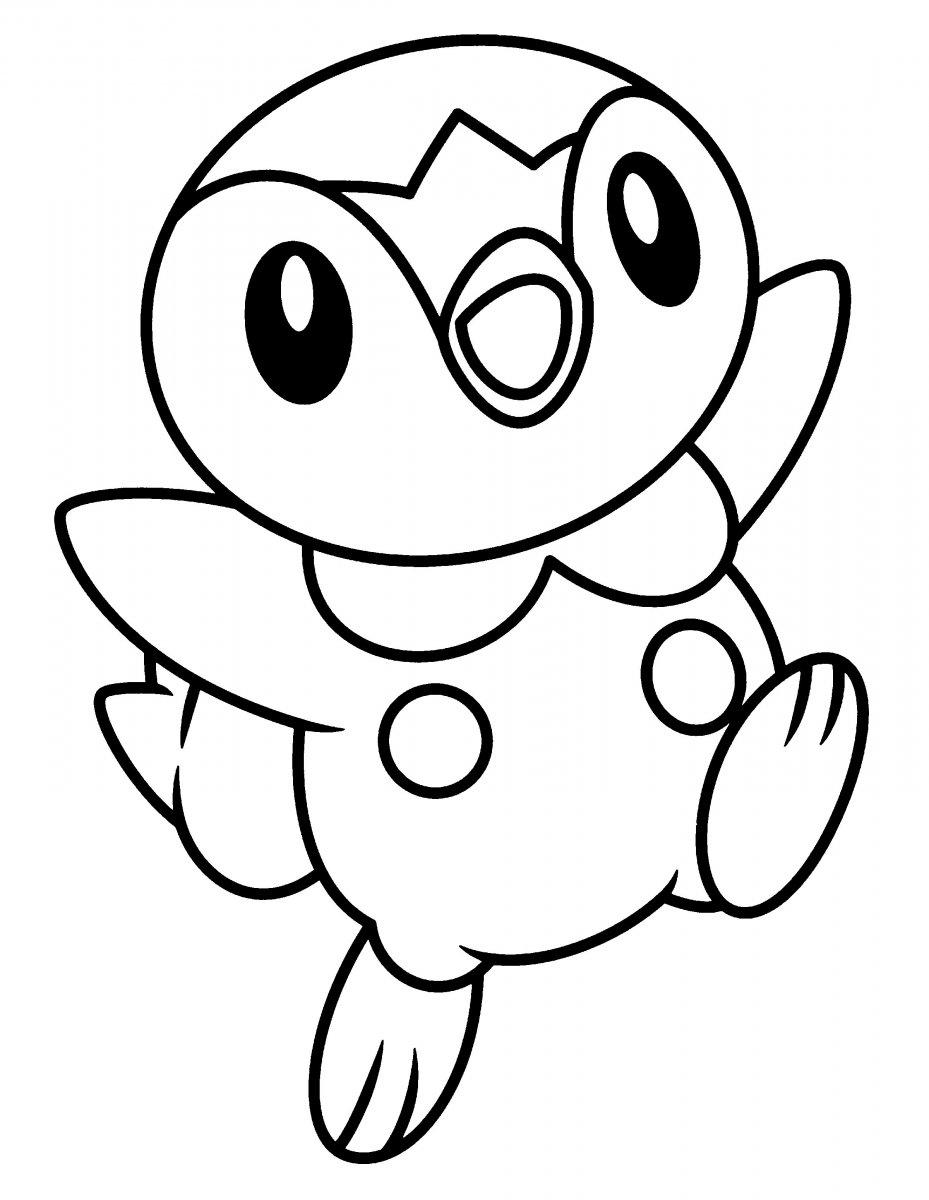 para colorear de Pokemon