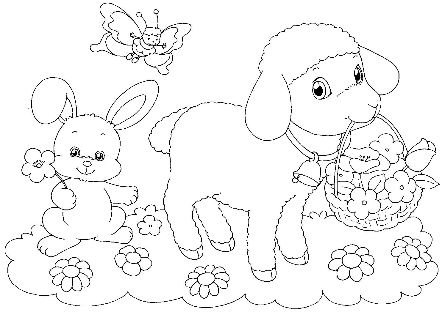 Dibujos hermosos para colorear y pintar