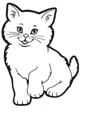 Lindos gatitos para pintar