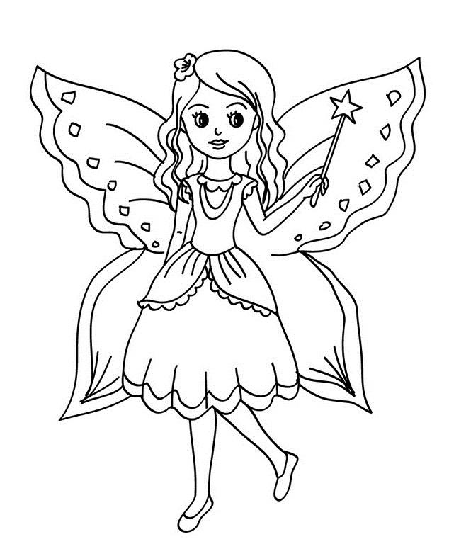 Vistoso Linda Mariposa Para Colorear Galería - Dibujos Para Colorear ...