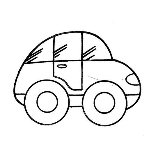 Imágenes de carros para colorear