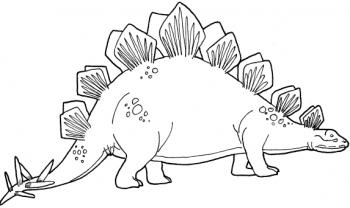 Imgenes de dinosaurios para colorear