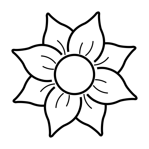 Im genes de flores para colorear for Plantas para dibujar