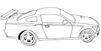 imagenes para colorear de carros