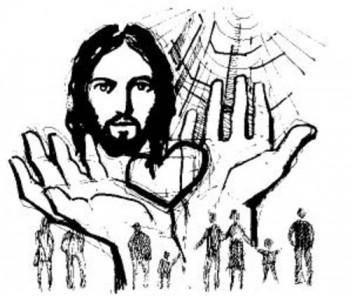 jesus para colorear