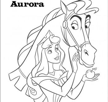 juego para colorear princesas