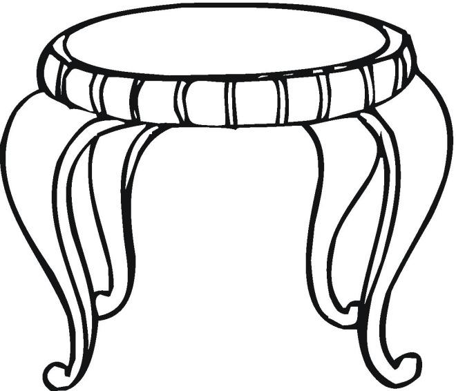 Mesa para colorear for Sillas para dibujar facil