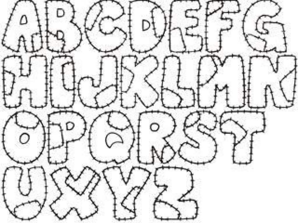 Colorear el abecedario.
