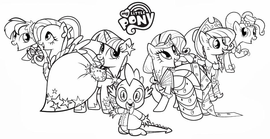 Juegos De Colorear Y Pintar A My Little Pony