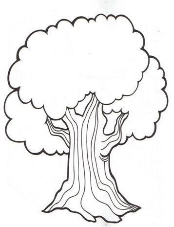 árboles Para Colorear
