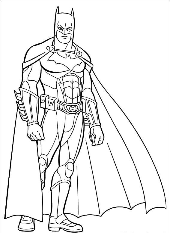 Batman para colorear