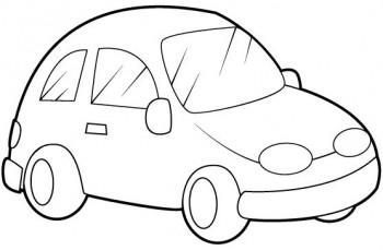 carros para colorear