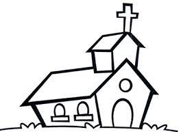 colorear iglesia
