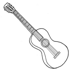 colorear instrumento musical
