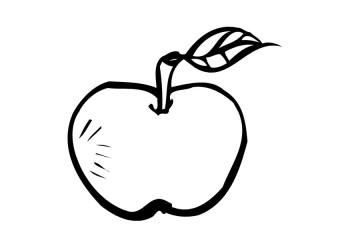colorear manzanas