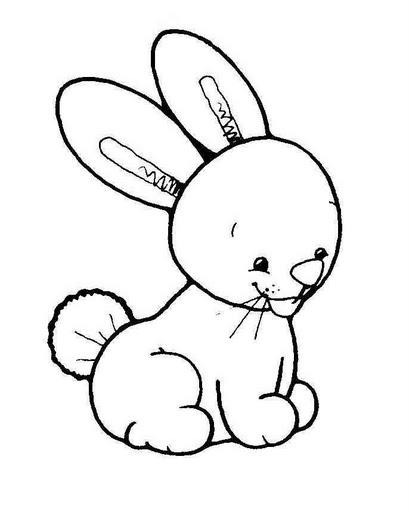 Conejo para colorear