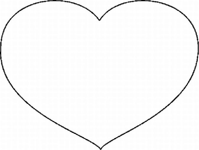 Corazón para colorear