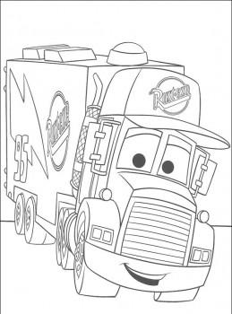 dibujo de car para colorear