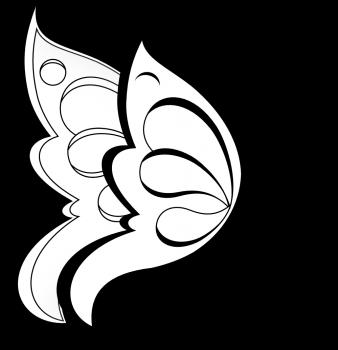 dibujo de mariposas para colorear