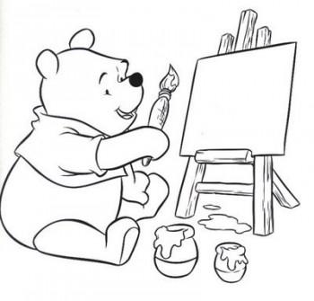 dibujos de winnie pooh para colorear