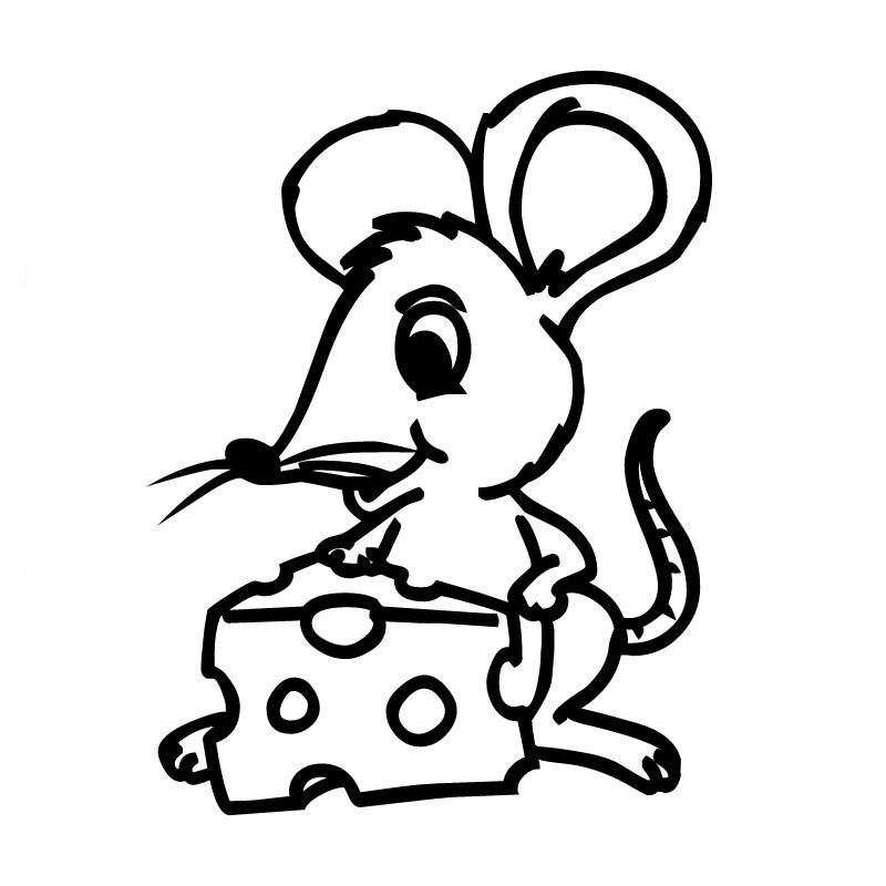 Dibujos para colorear en el ordenador - Ratones para ordenador ...