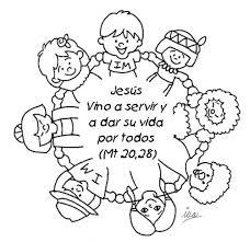 dibujos para colorear cristianos