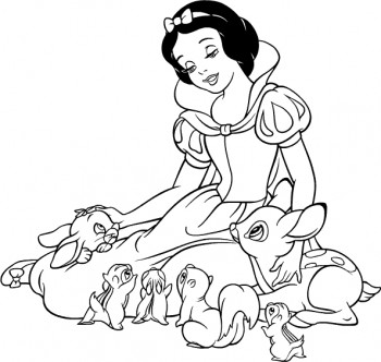 dibujos para colorear de princesas