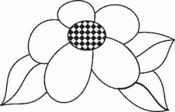 flores para colorear