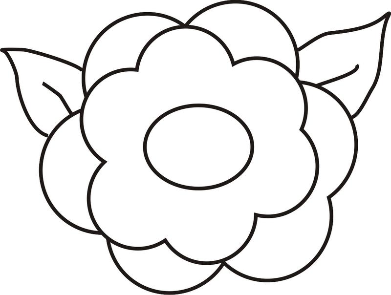 Excepcional Páginas Para Colorear De Flores Blancas Y Negras Viñeta ...