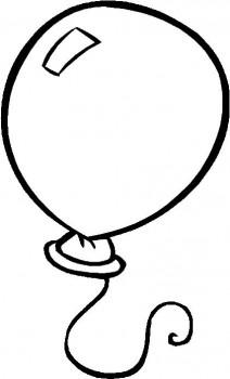 globos para colorear